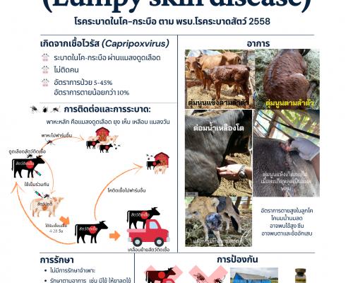 โรคลัมปี สกิน (Lumpy skin disease)